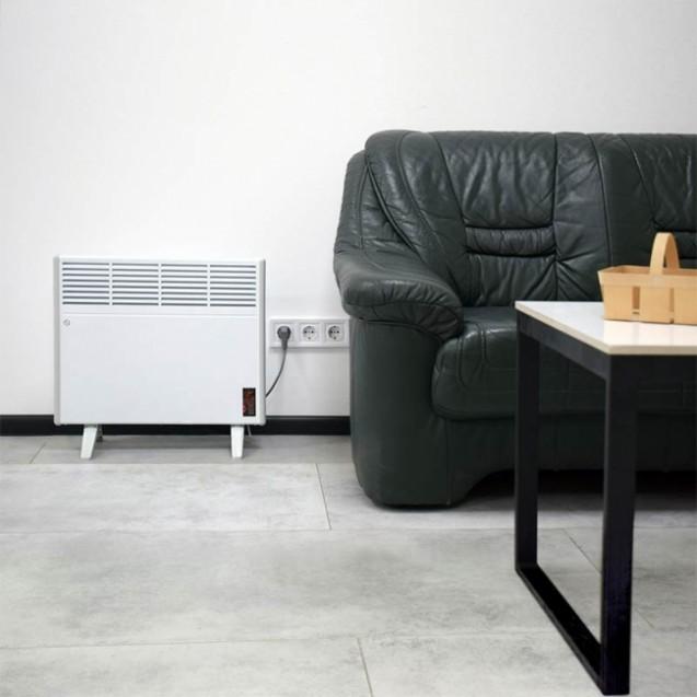 Конвектор ERAFLYME 1000РW с программатором, отапливаемая площадь до 20 кв.метров