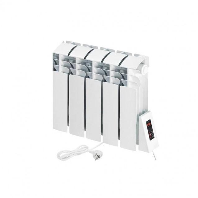 Электрорадиатор ERAFLYME COMPACT 5R, 490 Вт на 9 кв.м, 5 секций, правое подключение