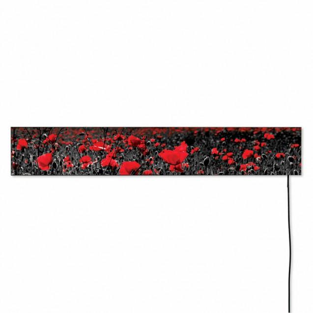 Керамическая отопительная панель 420 Вт на 10 кв.м, FLYME 420Р diz, дизайнерская