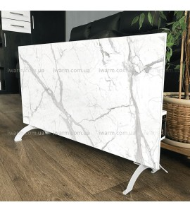 Керамическая отопительная панель FLYME 600Р белый мрамор, площадь до 12 кв.м