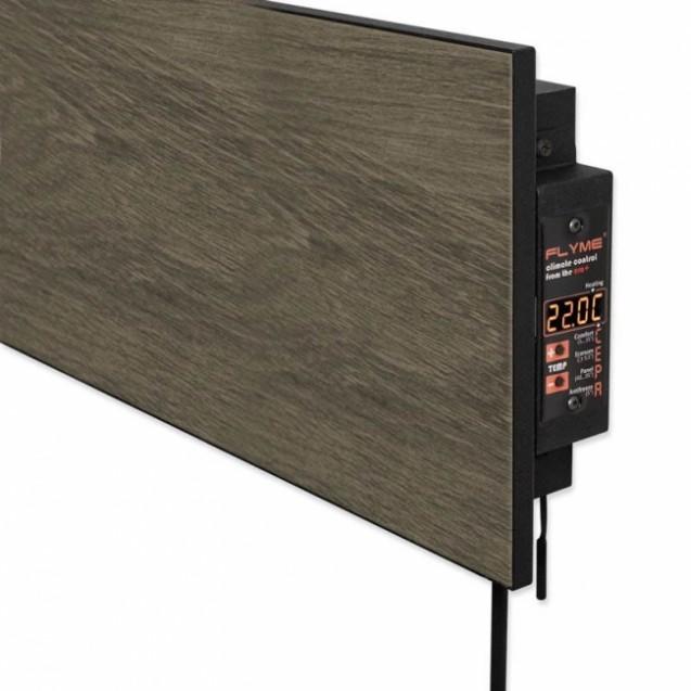 Керамическая отопительная панель 420 Вт на 10 кв.м, FLYME 420РВ, черный-коричневый, темное дерево