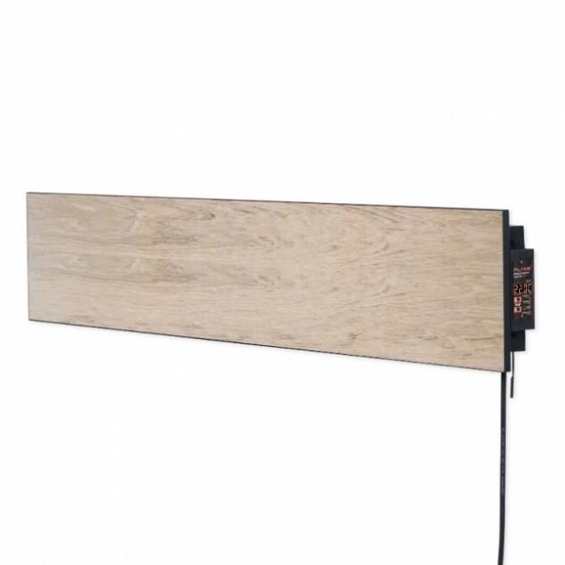 Керамическая отопительная панель 420 Вт на 10 кв.м, FLYME 420РВg бежевый,  светло-коричневое дерево