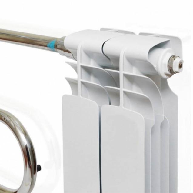 Радиаторный полотенцесушитель змеевик ERAFLYME, Электрорадиатор, 2 секции
