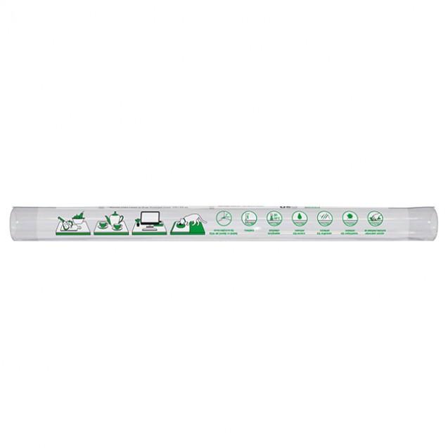 Силиконовая скатерть 0,9х1,6 м, гибкое защитное прозрачное покрытие для поверхности стола Мягкое стекло MVM PC-1600*900T